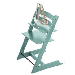 Stokke Chair Harness Rocking Pillows Tripp Trapp With Aqua Blue Charlotte Et 2018