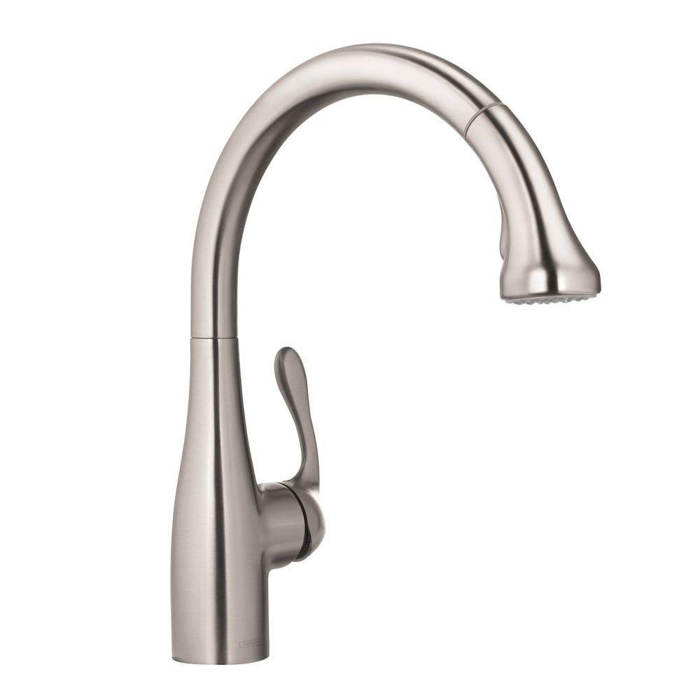 hansgrohe 4066860 allegro e gourmet higharc kitchen faucet