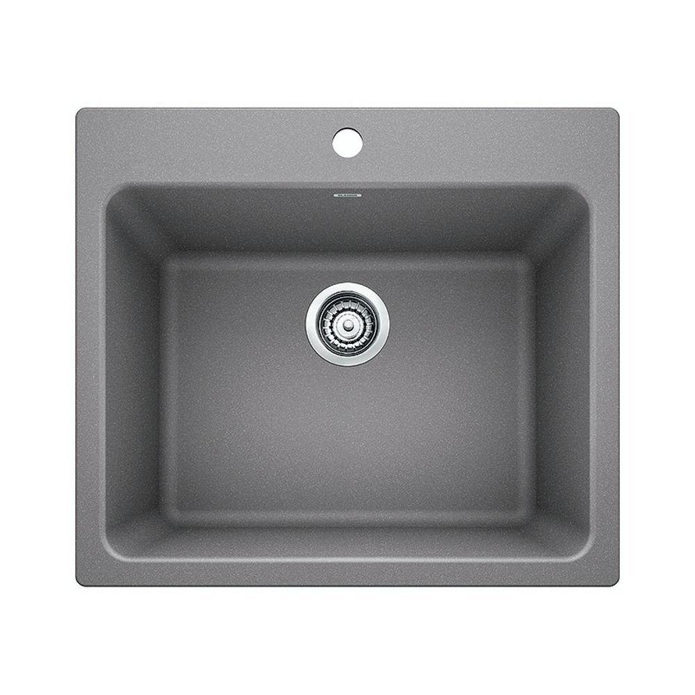 blanco 401906 liven silgranite laundry sink