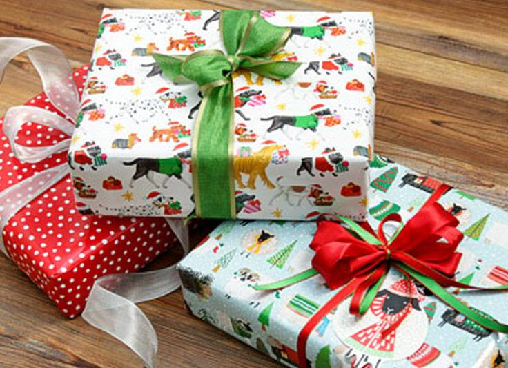 gift wrapping paper digs