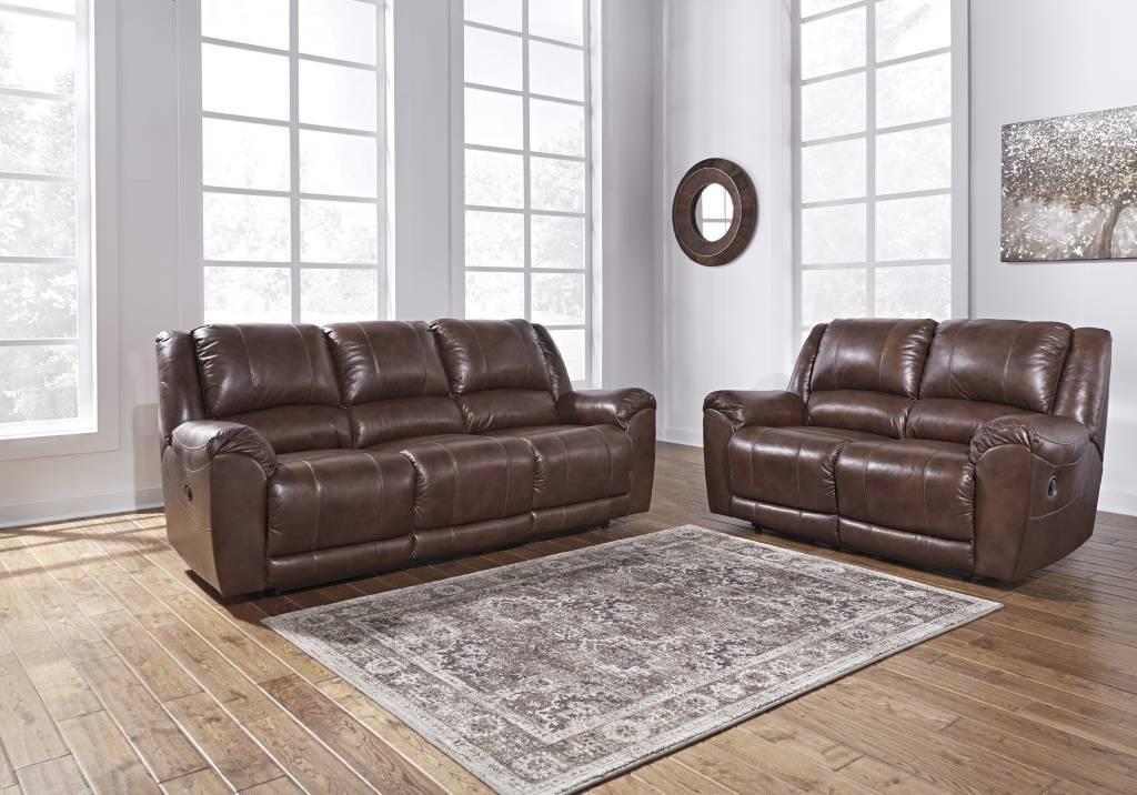 color sofa versace ebay reclining leather olsberg canyon 6070288 hvl signature design persiphone