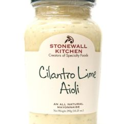 Stonewall Kitchen Aioli Island With Butcher Block Top Kitchens Cilantro Lime 10 25oz