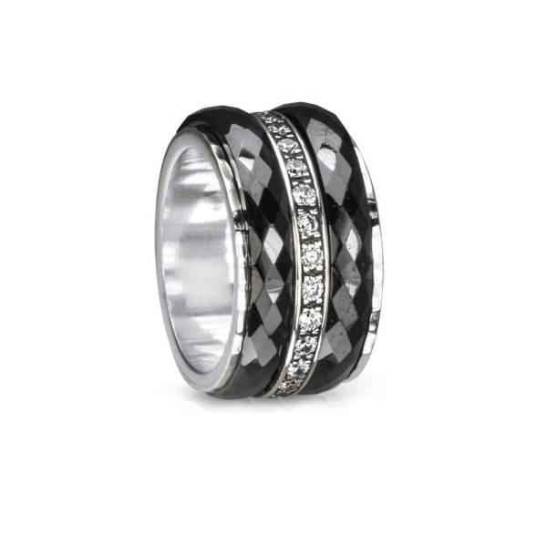 Meditation Rings Ring Untold 3401 Size 8 Black