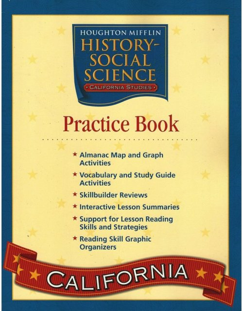 small resolution of Houghton Mifflin History Social Science Grade 4 California - The Best  Picture History