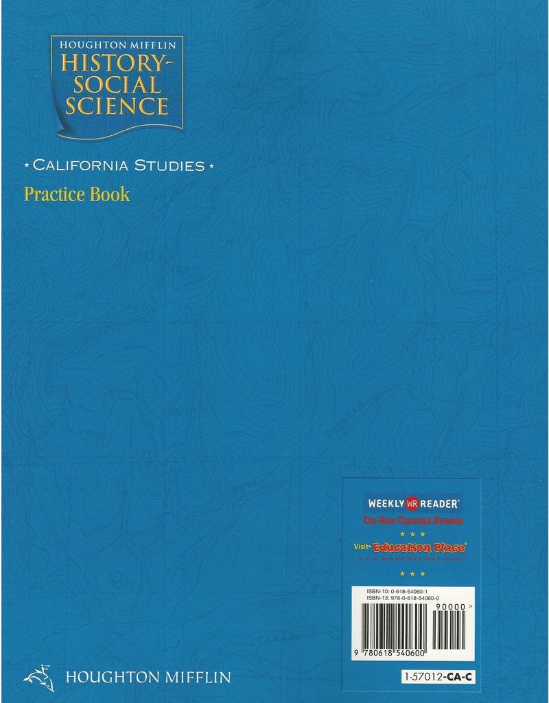 hight resolution of Houghton Mifflin History Social Science Grade 4 California - The Best  Picture History
