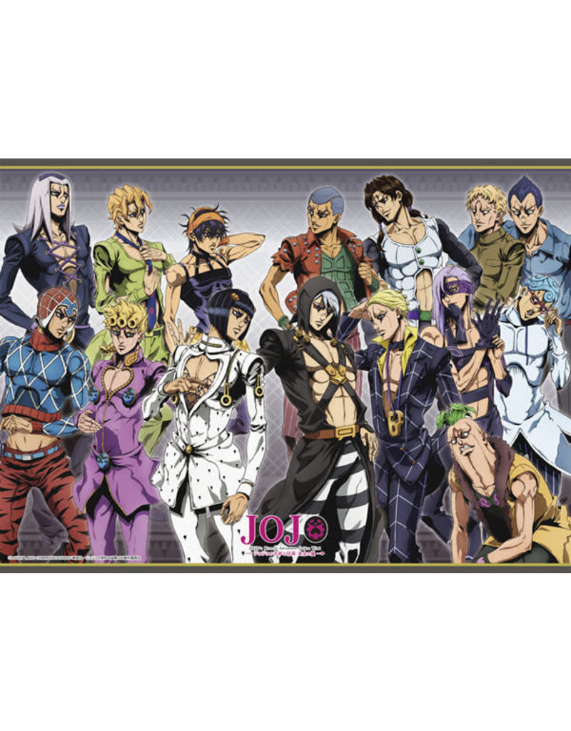 Jojo Bizarre Adventure Golden Wind : bizarre, adventure, golden, JoJo's, Bizarre, Adventure, Golden, AGF2019, Illustration, Scroll, Collectors, Anime