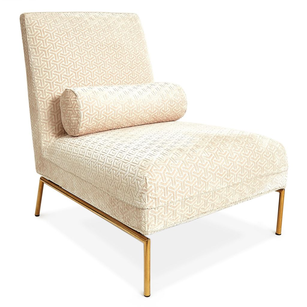 Velvet Slipper Chair Jonathan Adler Astor Slipper Chair