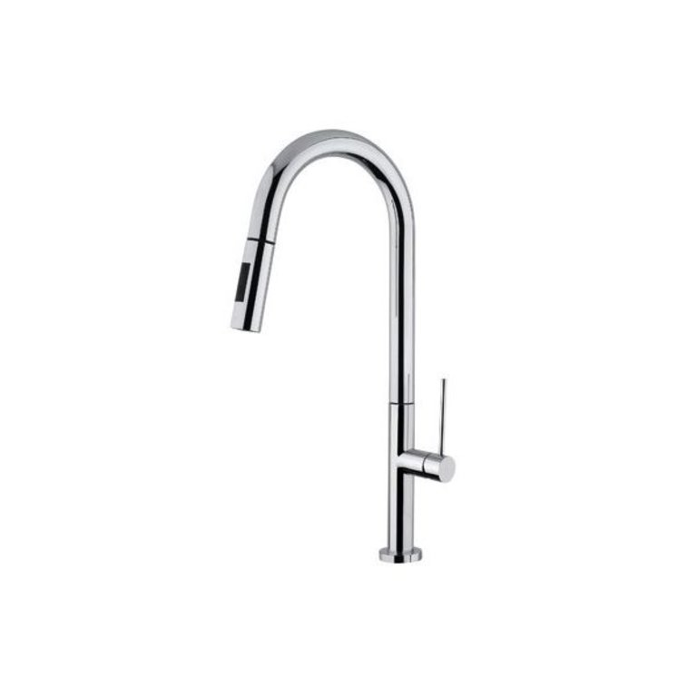 luxury kitchen faucets island stove disegno slim d30 dual spray faucet chrome home comfort centre
