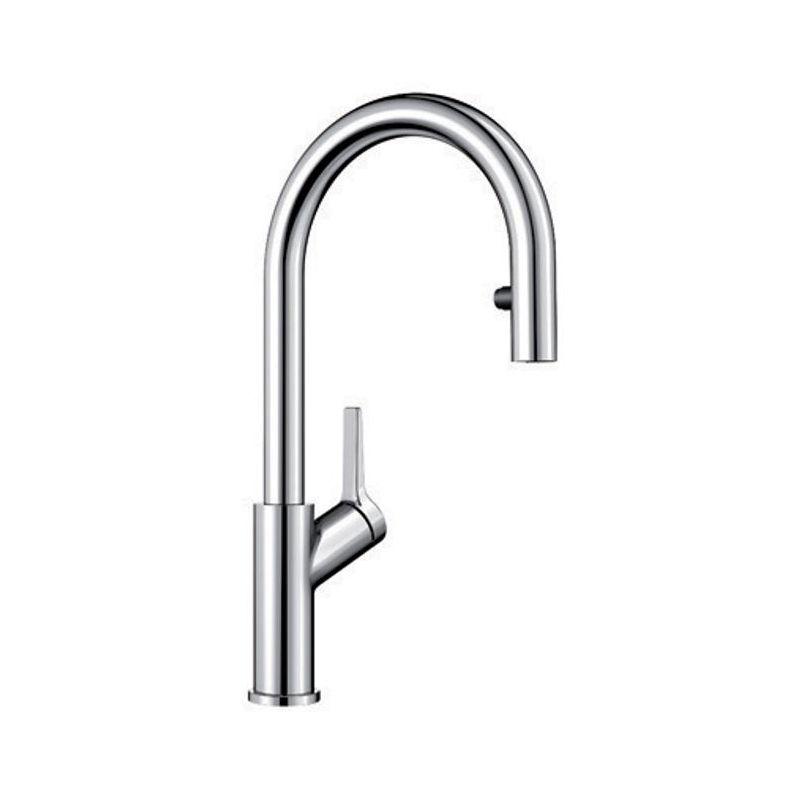blanco 403729 urbena dual spray pull down kitchen faucet