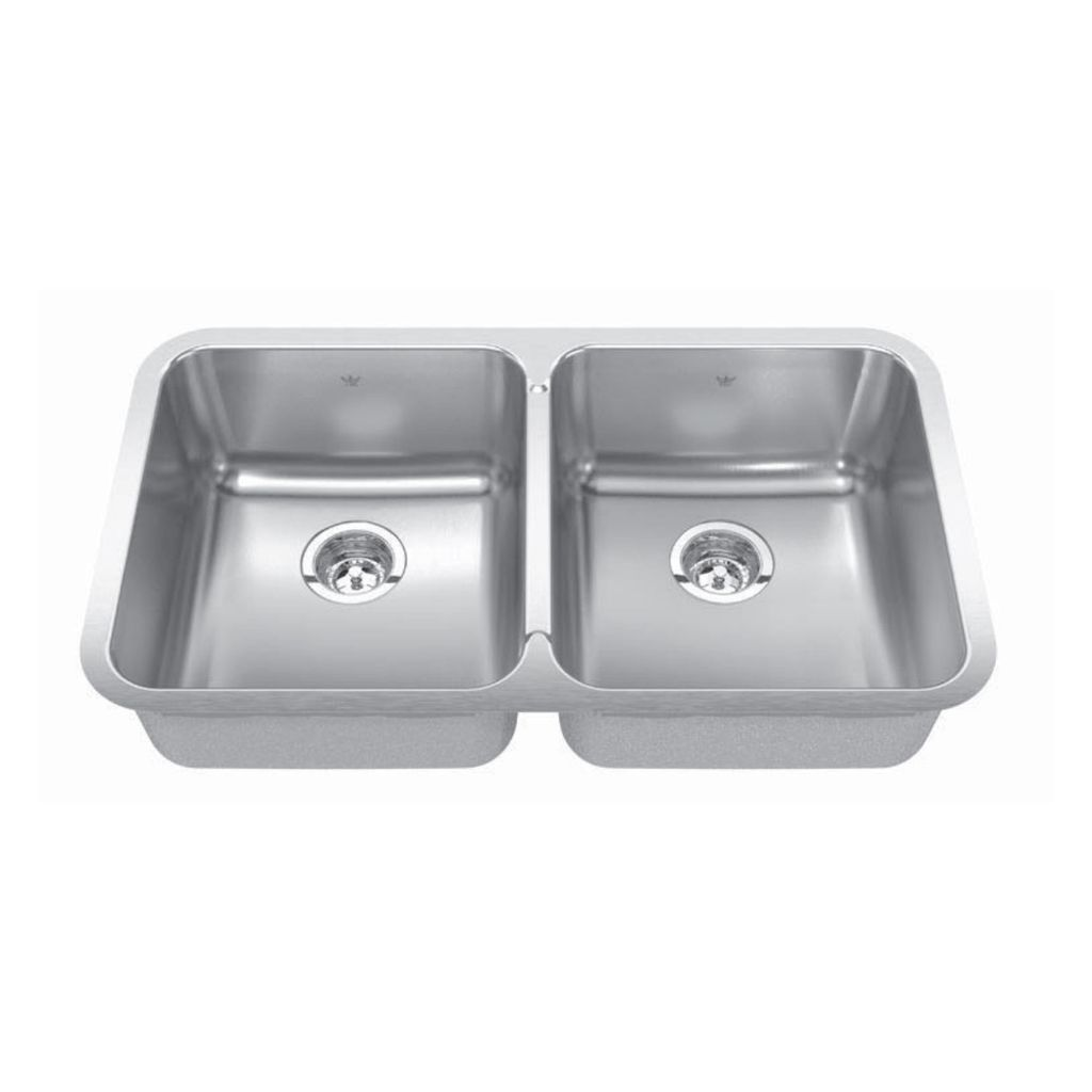 kitchen sink 33x19 outdoor kits lowes kindred qdua1933 8 33 x 19 double bowl undermount home register