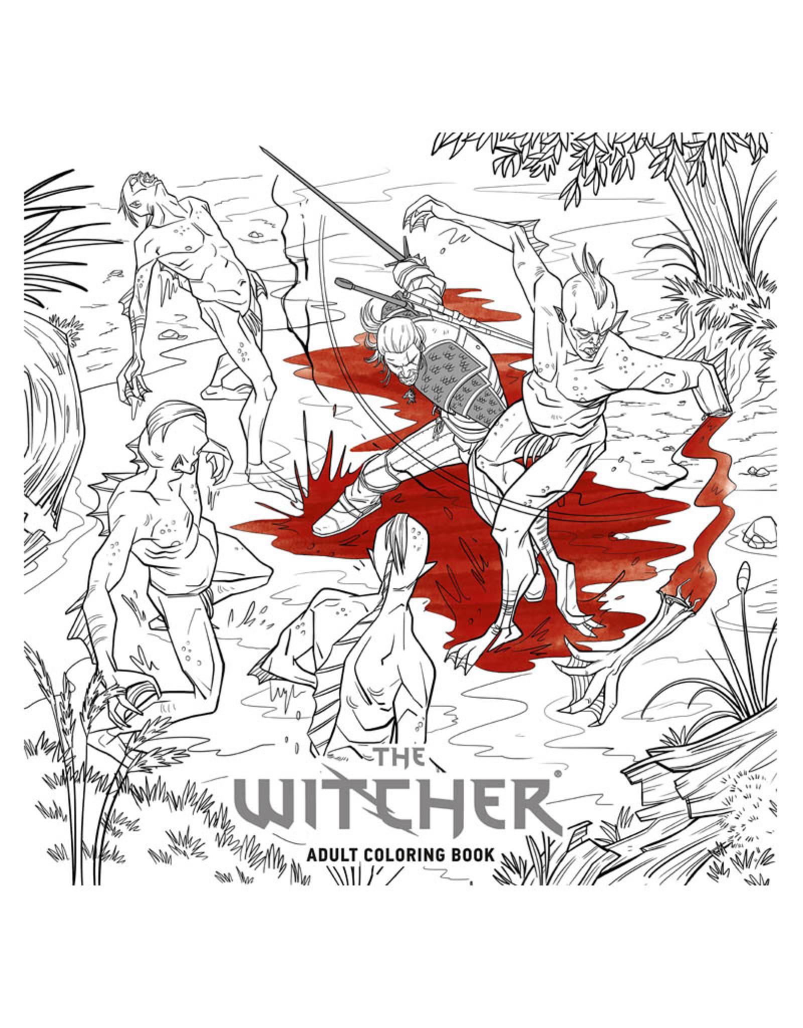 Witcher Coloring Book : witcher, coloring, Witcher, Coloring, Comics