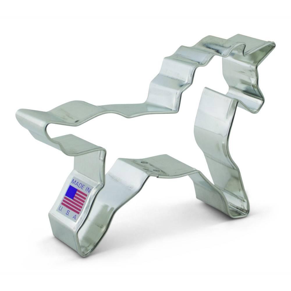 Ann Clark Cookie Cutter Unicorn 3'' - Ares Kitchen and Baking Supplies