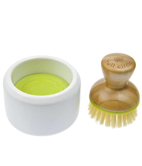 full circle kitchen brush high quality knives bubble up foaming dish ares and baking