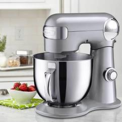 Kitchen And Mixer Outside Plans Cuisinart Precision Master 5 Qt 2l Stand Silver