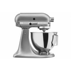 Kitchen And Mixer Decorating Ideas Kitchens Kitchenaid Silver Ultra Power Plus 4 5 Qt Tilt Head Stand
