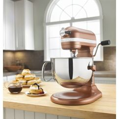 Kitchenaid Kitchen Table Sets Ikea Ares And Baking Supplies Sale 6 Qt Professional 600 Series Bowl Lift Stand Mixer Copper Pearl