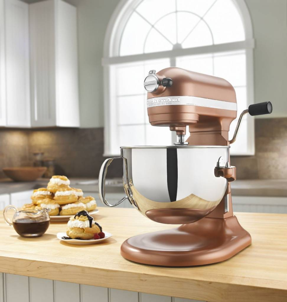 kitchen aid pro 600 where to buy cabinet doors kitchenaid 6 qt professional series bowl lift stand mixer copper pearl