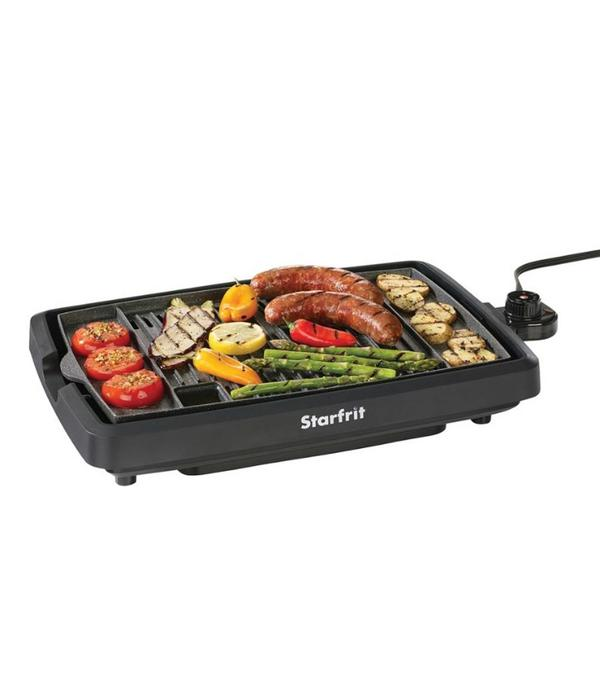 grill kitchen kenmore appliances the rock by starfrit indoor smokeless electric bbq