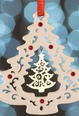 ornaments belleek living gold