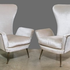 High Back Chairs With Arms Lowes Patio Table And Pair Paolo Buffa Arm 1950s Feliz Interiors Houston