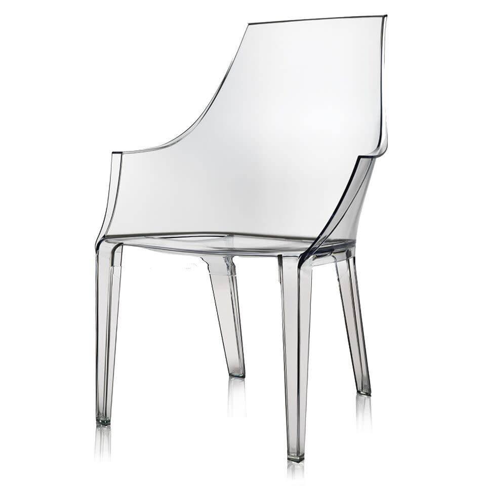 acrylic arm chair velvet howse dining logan