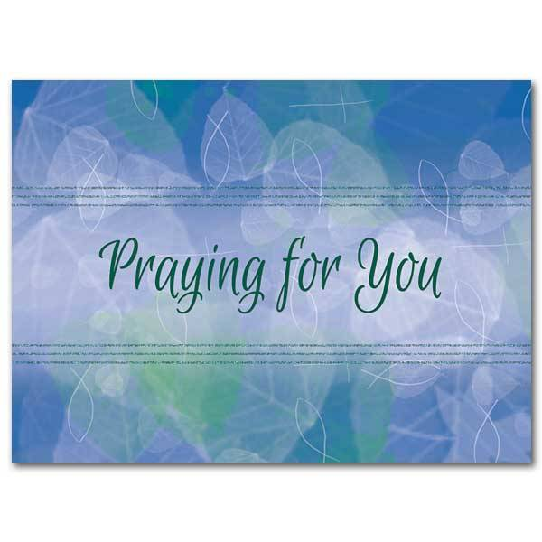 Praying for You Continued Caring Card - Queen of Angels ...