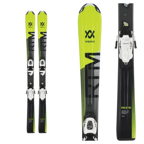 Volkl Rtm Jr Skis With Vmotion 7.0 Bindings 2019