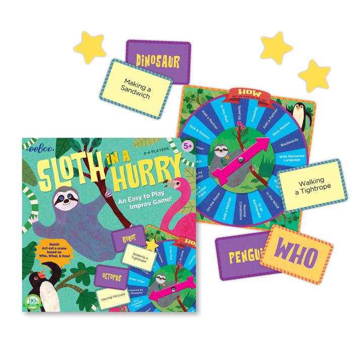 Sloth in a Hurry Action Game - Learning Tree Educational Store Inc.
