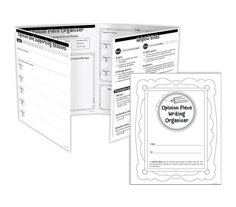 Opinion Piece Writing Organizer Fold-Out, Grades 2-3