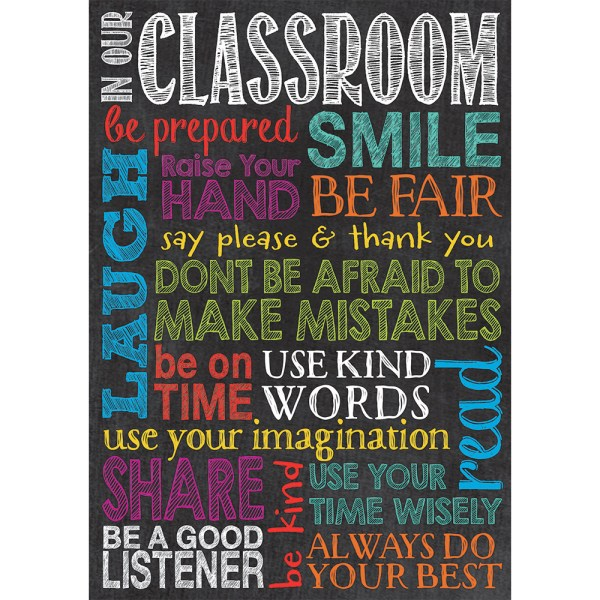 In Classroom Poster - Learning Tree Educational Store