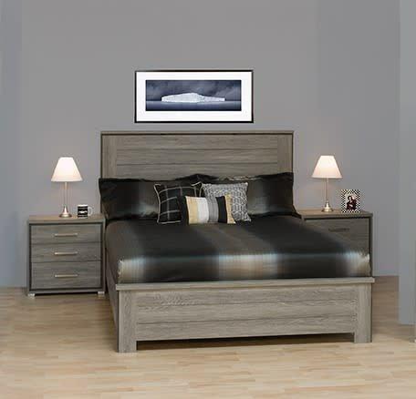 12040 tete de lit simple bois de grange