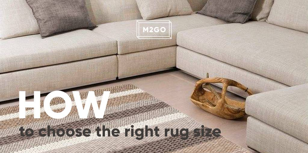 how to choose rug size for living room couch the right m2go