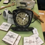 Fresnel Coffee Mug Wall Clock Heirloom Home