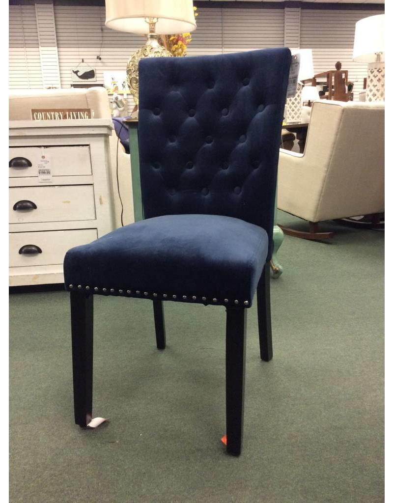 medium resolution of marcelo ink navy dining chair