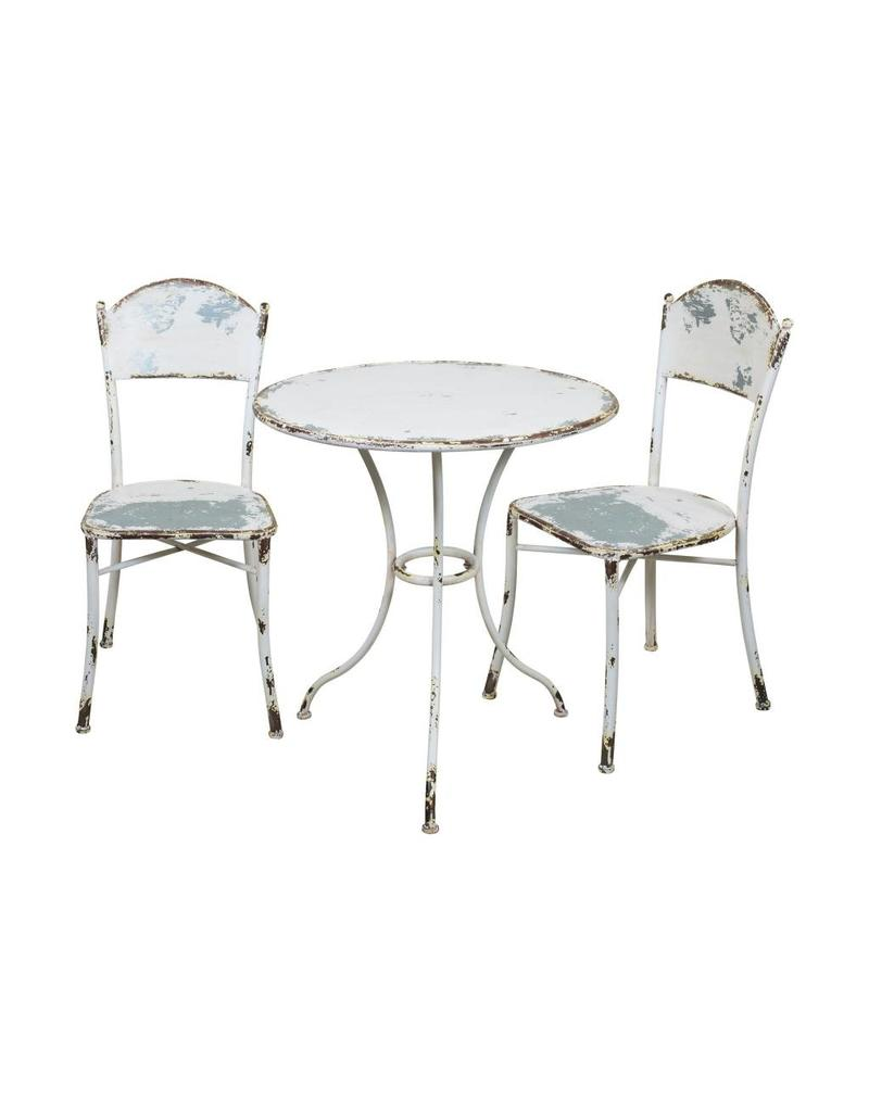 Metal Bistro Table And Chairs Metal Bistro Set 3pcs Fh1795