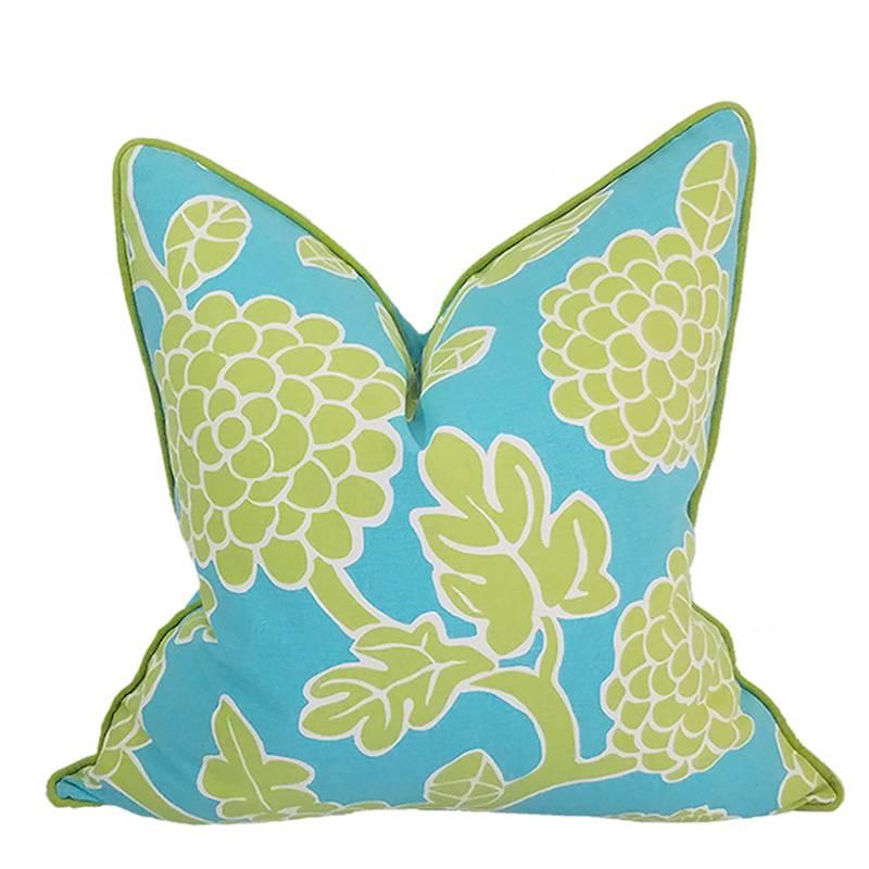 kopok pillow caribbean 22x22