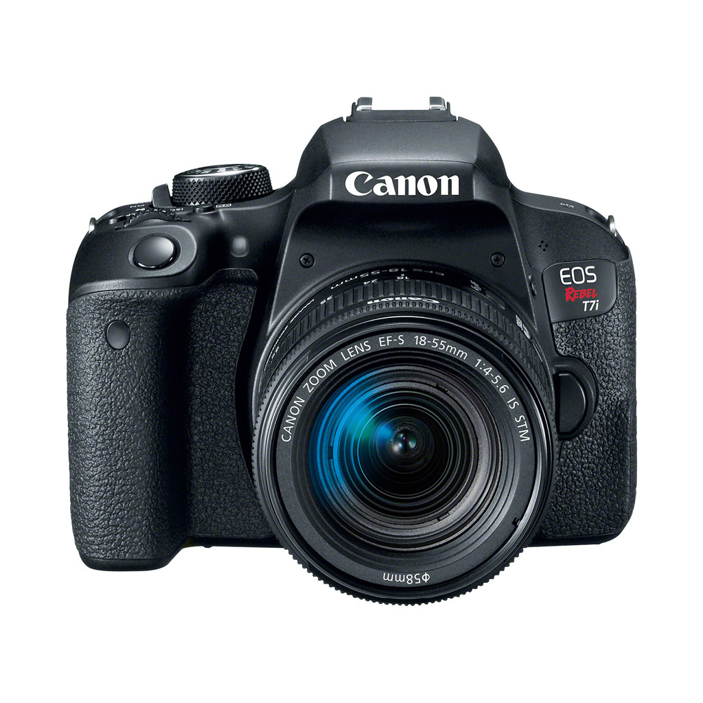 Canon EOS Rebel T7i 24.2 MP DSLR Camera with 18-55mm Lens - OpenBox.ca