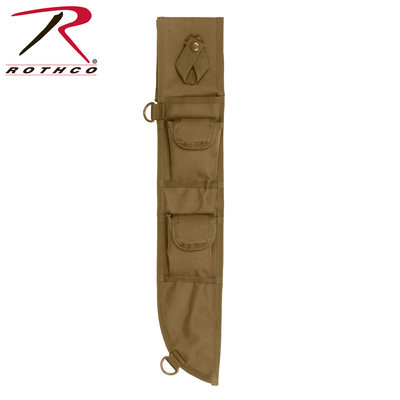 Rothco MOLLE Tactical Machete Sheath Coyote - Poco Military and Outdoor