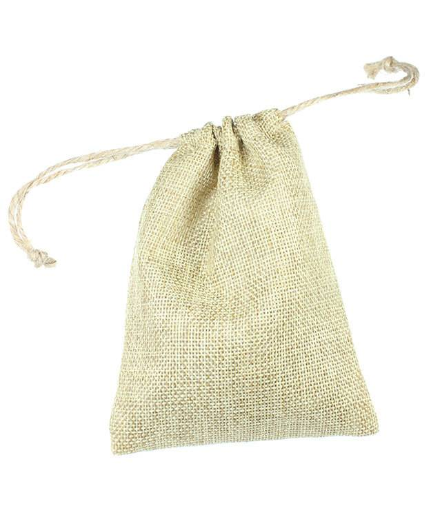dbx3204 burlap drawstring pouches