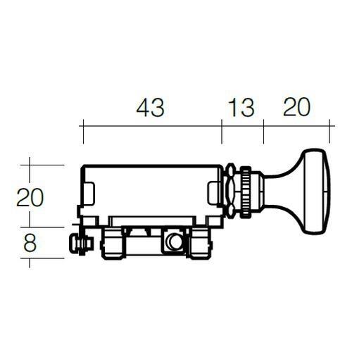 Narva Off/On/On Push/Pull Headlamp Switch w/ 30 Amp Fuse