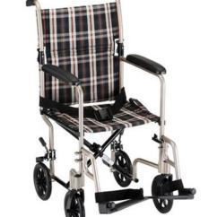 Transport Wheelchair Nova Ashley Furniture Kitchen Chairs Aluminum Chair 17 Getactive Home Medical And