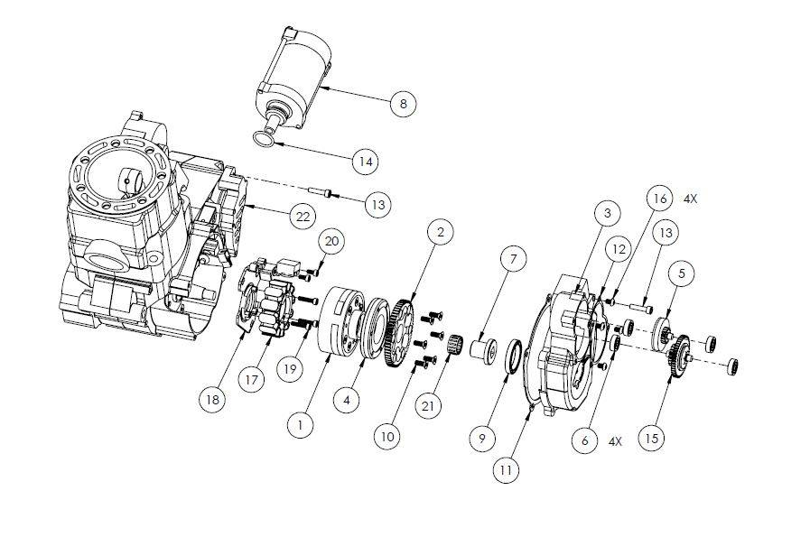 Electric Motor Parts List