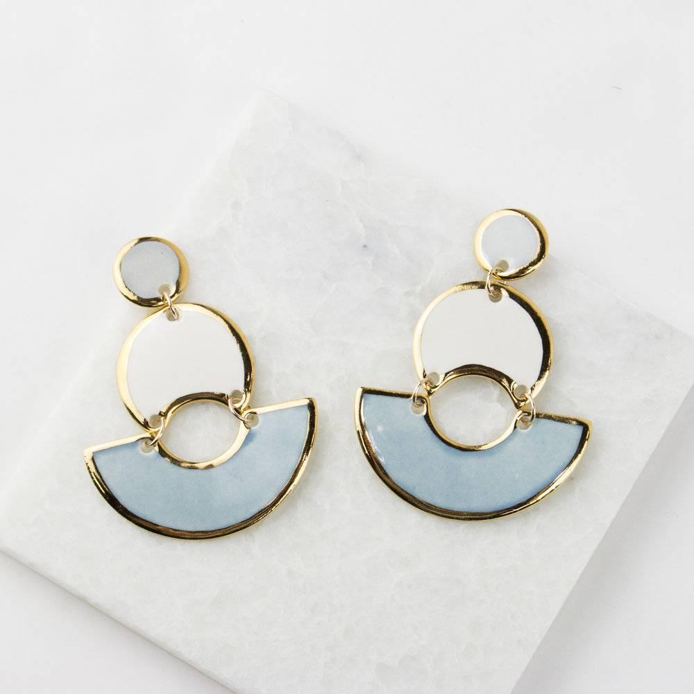 MOD Colorblock Earrings