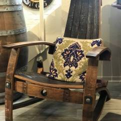 Wine Barrel Chair Rubber Feet For Folding Chairs Adirondack Napa Valley Dreaming