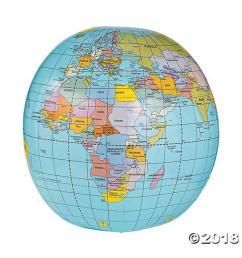 caly 20 inflatable globe [ 800 x 1024 Pixel ]