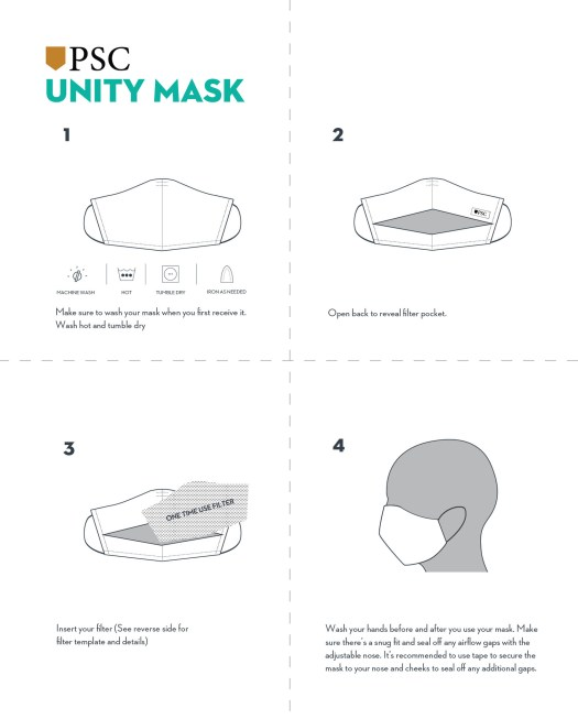 How To Use Your Face Mask and Add A Filter - Pocket Square ...