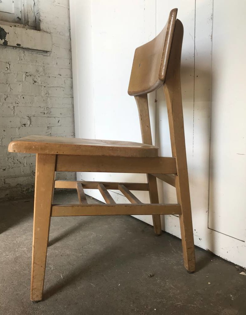 Vintage School Chairs R F Vintage School Chair Set Of 4