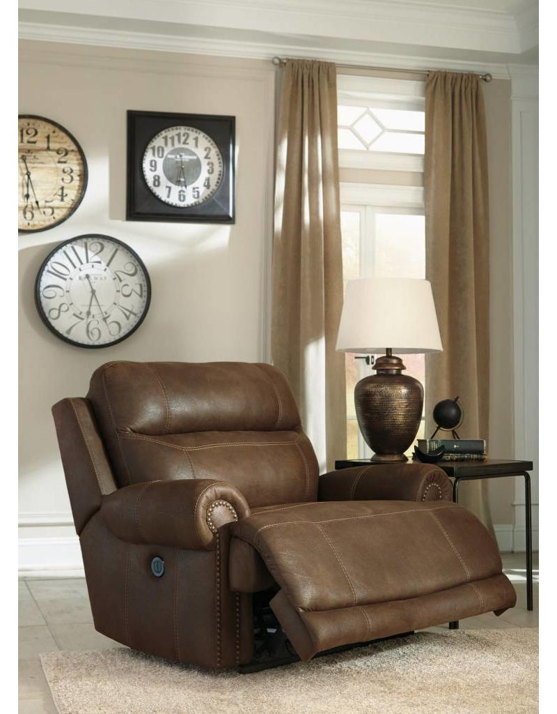 Ashley Furniture Recliner Chairs Austere Power Reclining Chair Brown