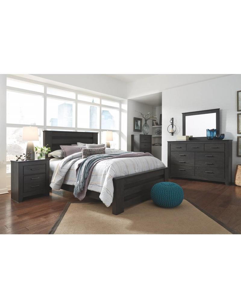 brinxton bed 6 pc queen bedroom set