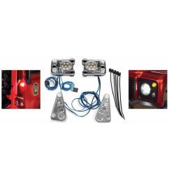 traxxas tra8030 led light set complete contains rock light kit led lightbar  [ 800 x 1024 Pixel ]